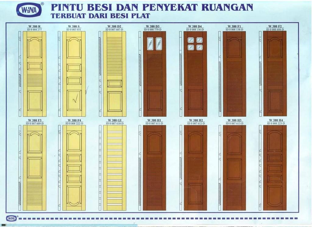 Model - model pintu garasi modern dari WiNA
