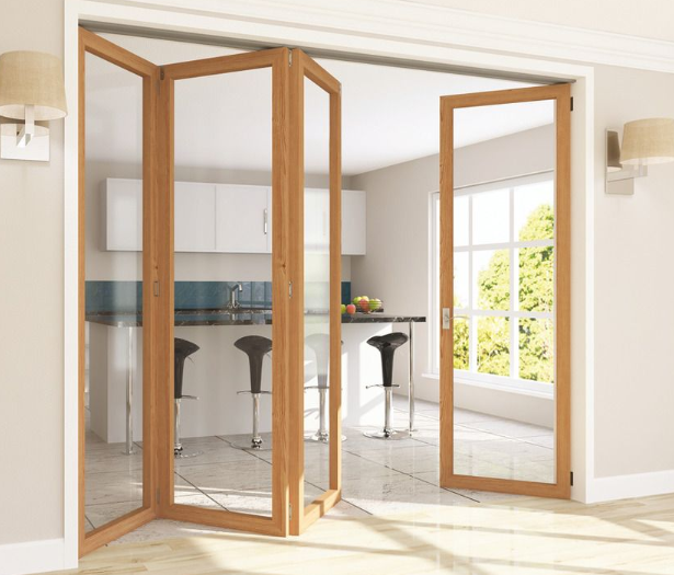 bentuk dan karakteristik pintu partisi lipat