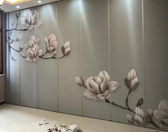 Contoh jenis-jenis wallpaper untuk partisi geser lipat