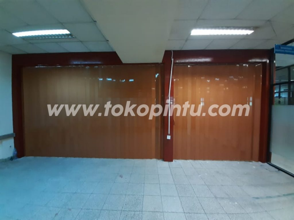 Penyekat ruang PVC cocok untuk ruang dapur