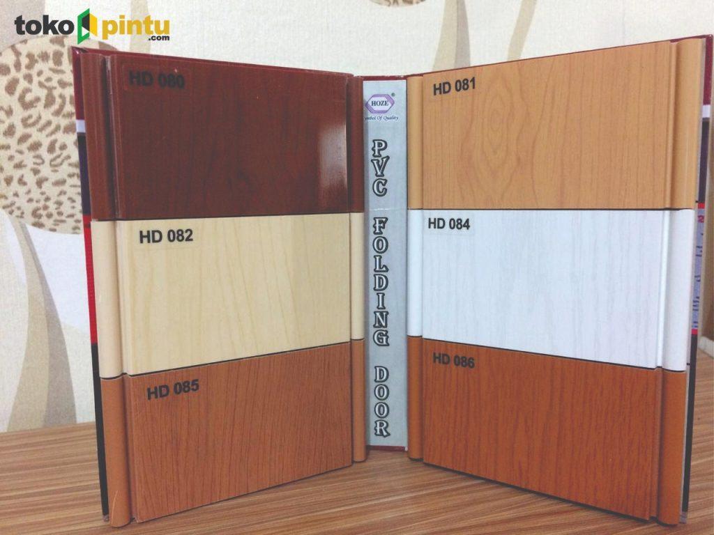 Model Pintu PVC Ruangan
