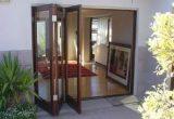 pintu lipat ruang taman kaca aluminium 1